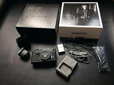 Olympus PEN F Body 20.3 Megapixel Camera Black