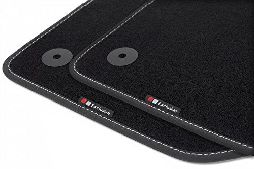Exclusive-line Design Fußmatten für VW Golf 5 V / Golf 6 VI / Scirocco 3 III