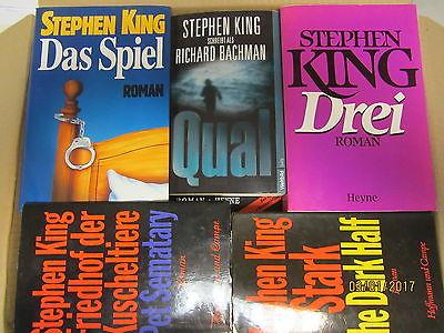 Stephen King 46 Bücher Horrorromane Gruselromane Fantasyromane