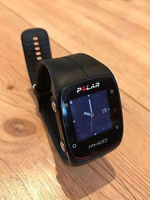 Polar M400 Pulsuhr mit H7 Bluetooth Brustgurt schwarz