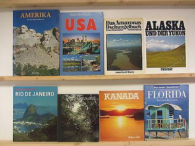25 Bücher Bildbände USA Amerika amerikanische Länder amerikanische Landschaften