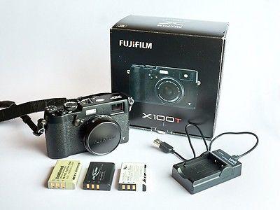 - Fujifilm X100T mit OVP Schwarz -