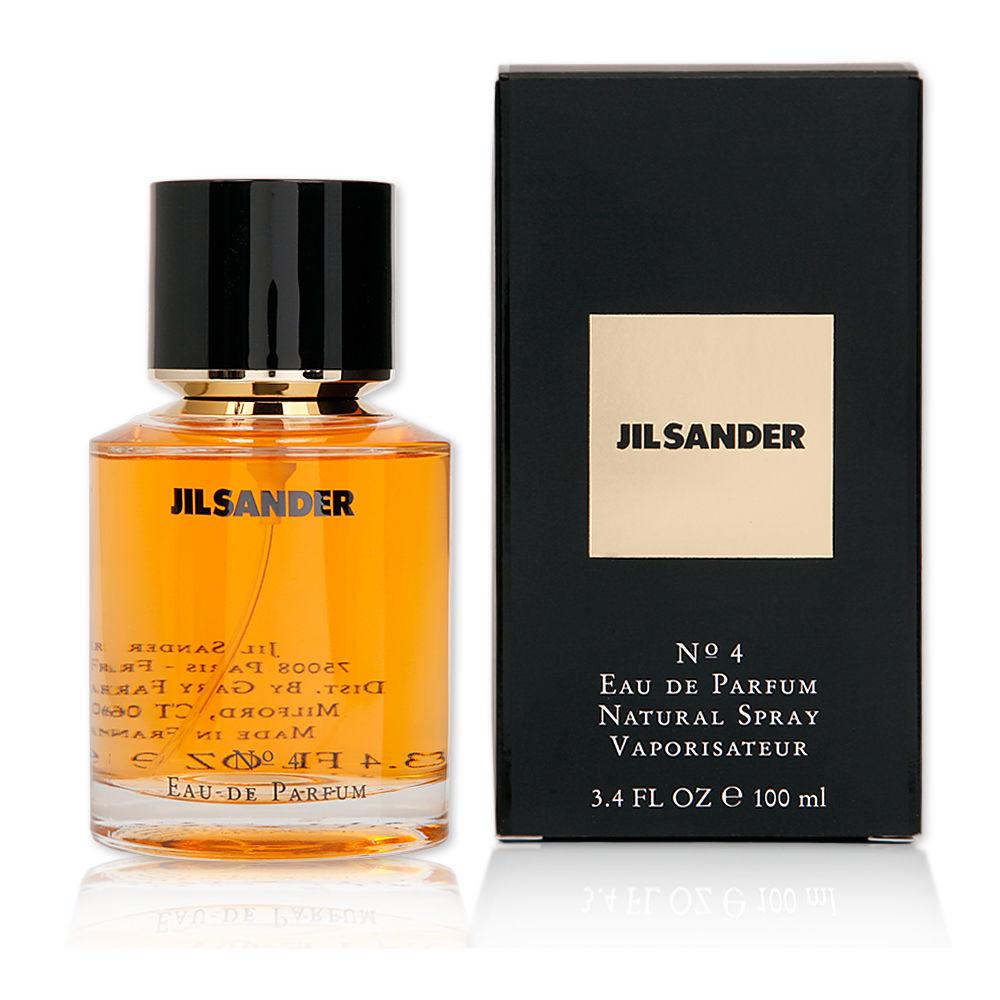 Jil Sander No.4   100 ml Eau De Parfum Spray  NEU+OVP