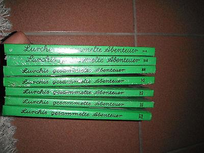 Lurchi Bücher 1-7 original Verpackt