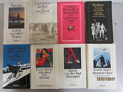 74 Bücher Taschenbücher Diogenes Verlag