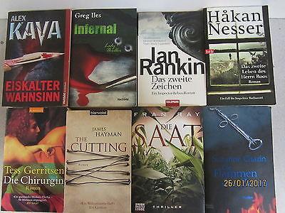 52 Bücher Taschenbücher Krimi Thriller Psychothriller Top Titel Bestseller