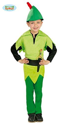 Bogenschütze Kostüm für Jungen Gr. 98-134, Größe:98/104