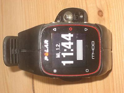 POLAR M400 - GPS Laufuhr - Trainingscomputer - Schwarz - inkl H7 Brustgurt