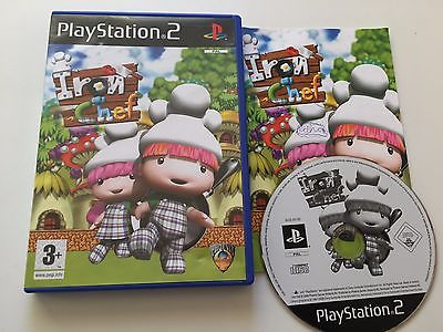 Iron Chef for Playstation 2 PS2 2007 Game Complete - Rare Puzzle Game W