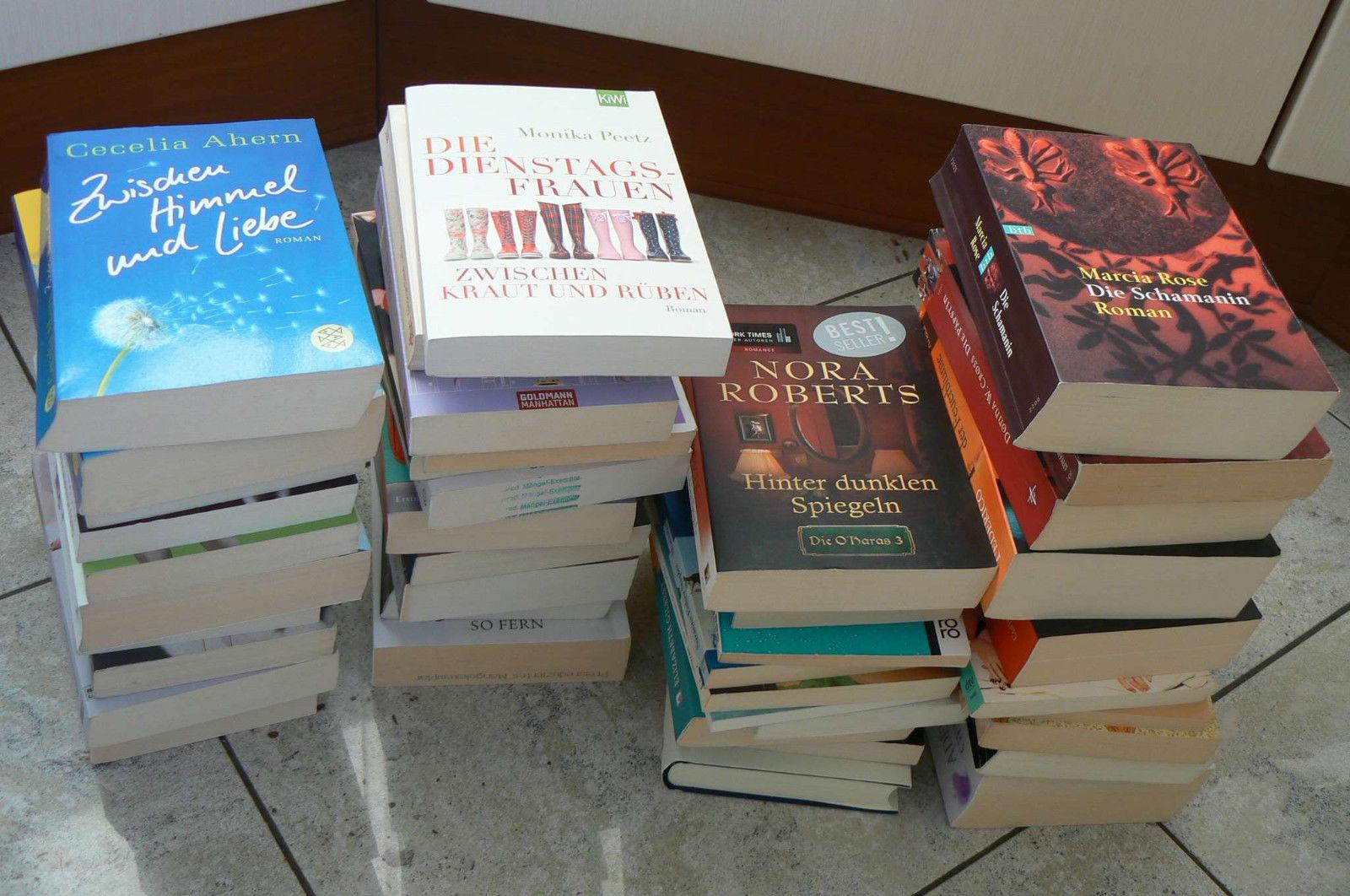 Buch Bücher Sammlung Paket 41 Romane u.ä. z.B. PS: Ich liebe Dich