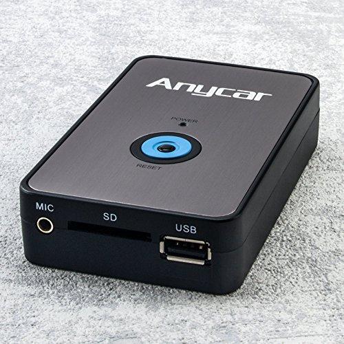 Bluetooth USB SD AUX Musik Adapter mit Freisprecheinrichtung inkl. Mikrofon für Toyota