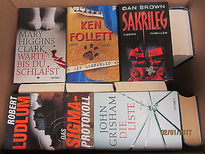 30 Bücher Krimi Thriller Psychothriller Kriminalromane Top Titel Bestseller