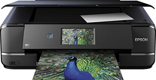 Epson Expression Photo XP-960 Tintenstrahl Multifunktionsdrucker (Drucken, Scannen, Copy-Funktion, 5.760x1.440 dpi, Wi-Fi, USB, Duplex) schwarz