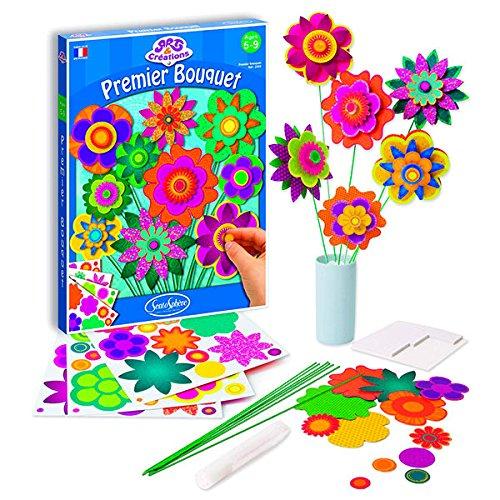 Sentosphere 02000 - Art and Creations- Blumenstrauss, Blumen-Bastelset