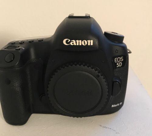 Canon EOS 5D Mark III 22.3MP Digitalkamera - Schwarz (Nur Gehäuse) Wie neu!