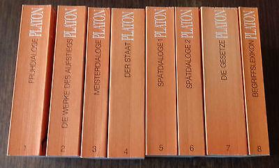 Platon: Sämtliche Werke in 8 Bänden. TB. Artemis/Ex Libris. Jubiläumsausgabe