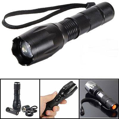 Mini 6000LM T6 Zoombaren Flashlgiht 5 Modi 18650 / AAA Outdoor Taschenlampe