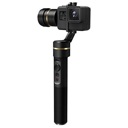 Feiyu G5 (mit 2 Akku) 3-Achsen-Handheld Gimbal Action-Kamera Stabilisator spritzwassergeschützt für GoPro Hero5 hero4 Hero3 Für Yi Cam 4 K Action Kameras