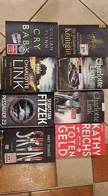 thriller paket 12 Bücher, Veit Etzold, Nele Neuhaus, Charlotte Link, Kathy Reich