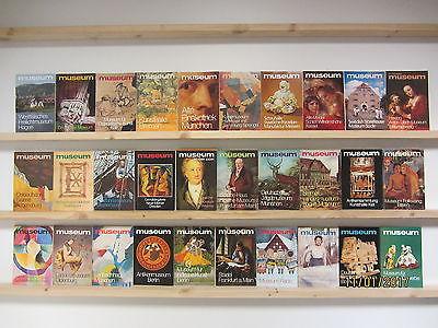 30 Bücher Taschenbücher museum Museumsführer Kunst Kultur Geschichte