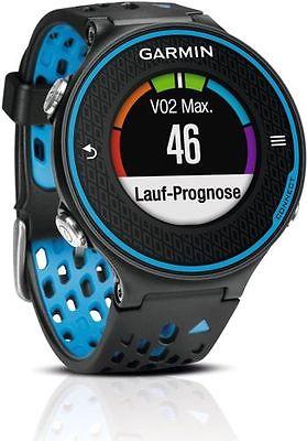 Garmin Forerunner 620 GPS Laufuhr schwarz mit Herzfrequenz Brustgurt OVP TOPP