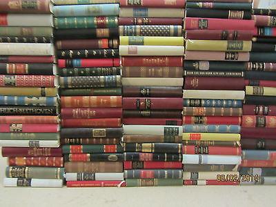 55 Bücher Romane Lederbuchrücken viele Klassiker Weltliteratur