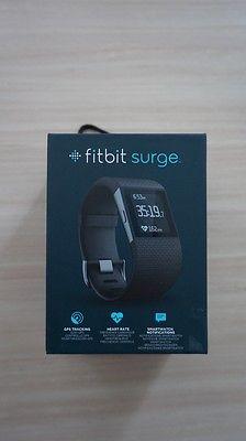 fitbit surge (Größe large, schwarz, originalverpackt)