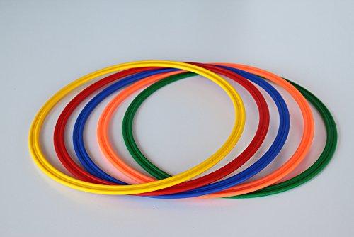 5er Set Ringe / Reifen Ø 40 cm, 5 Farben