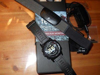 Garmin Fenix 2 Multisport Training GPS Watch Bundle Uhr mit Brustgurt,TOP