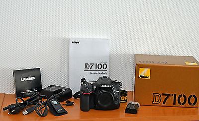 Nikon D D7100 24.1 MP SLR-Digitalkamera - Schwarz (Nur Gehäuse)