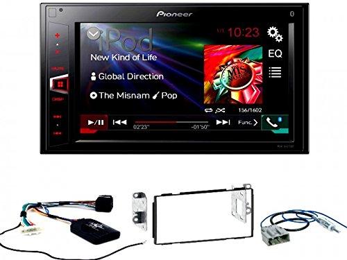 Komplett-Set Nissan Qashqai ab 2007 Pioneer MVH-AV280BT USB Bluetooth MP3