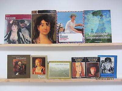 57 Bücher Maler Malerei Gemälde Künstler Renoir Goya Impressionisten Dürer u.a.