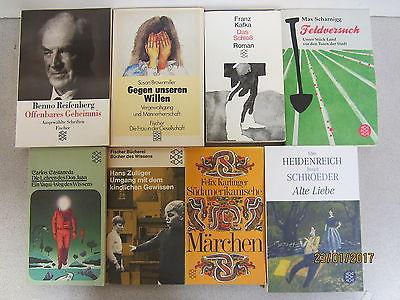 143 Bücher Taschenbücher Fischer Verlag