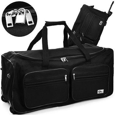 Reisetasche 100 Liter Trolley 2 Rollen Sporttasche Reisetrolley Tasche