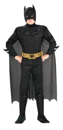 Rubie's 3 881290 M - Deluxe Muscle Chest Batman Kostüm, Größe M