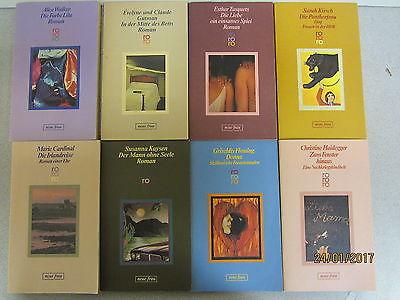 105  Bücher Taschenbücher rororo Verlag Serie neue frau Romane u.a.