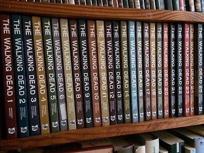 THE WALKING DEAD Band 1 - 25 Robert Kirkman Comic Buch