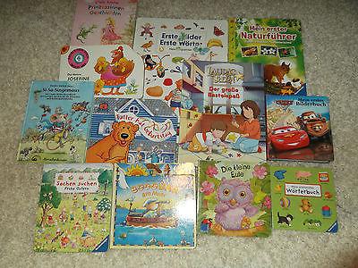 Kinderbücher Paket, 11 Stück + 1 Bastelbuch Lauras Stern