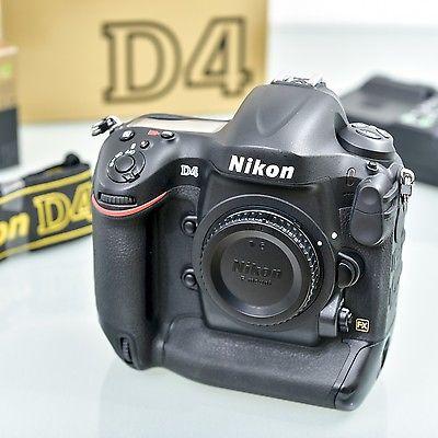 Nikon D4 16.2 MP SLR-Digitalkamera - nur für echte Profis - incl. XQD Lesegerät
