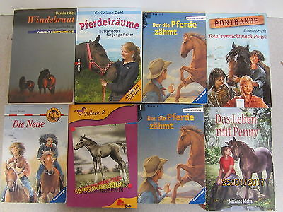 98 Taschenbücher Pferderomane Pferdebücher Pferdeabenteuer Jugendbücher