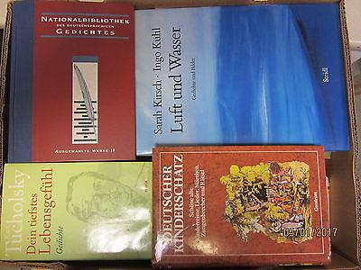 54 Bücher Gedichte Reime Lyrik Balladen klassische Gedichte