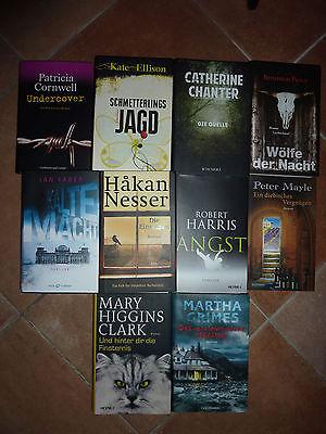 Bücherpaket, Buchpaket, 10 X Krimi & Thriller