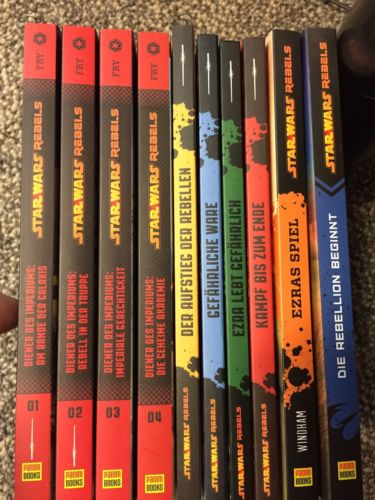 Star Wars Rebels Büchersammlung