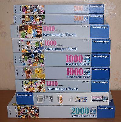 Gelini-Puzzlesammlung, 500, 1.000 und 2.000 Teile
