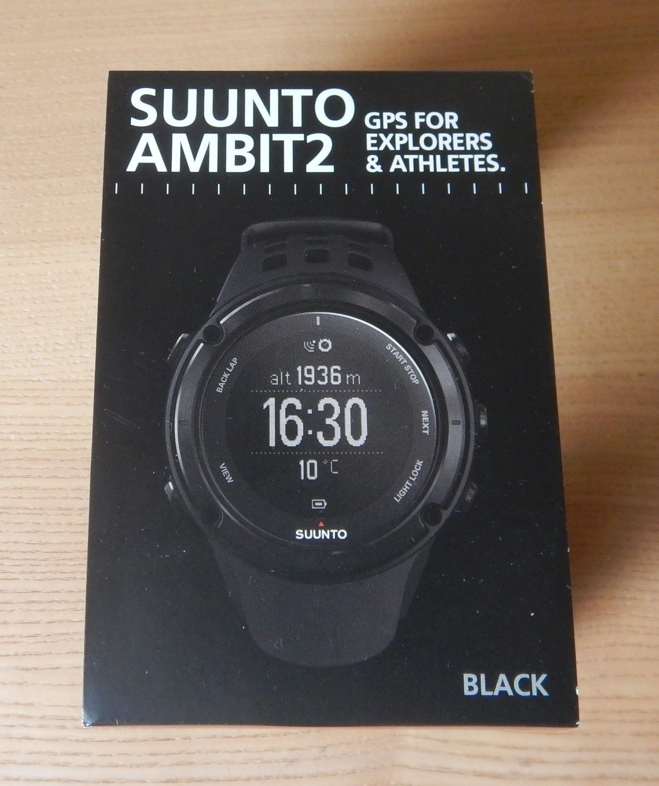 Suunto Ambit2 Black HR GPS Uhr
