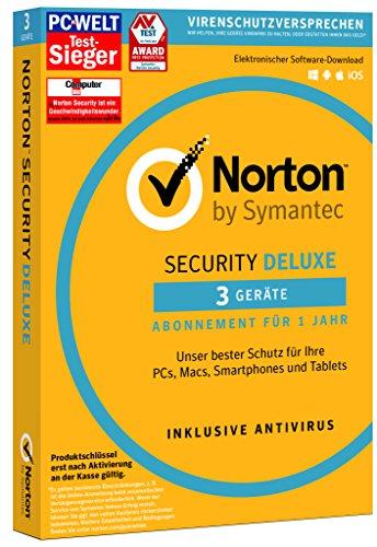 SYMANTEC Norton Security Deluxe (3 Geräte - PC, Mac, Smartphone, Tablet)