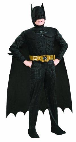 Rubie's 3 881290 L - Deluxe Muscle Chest Batman Kostüm, Größe L