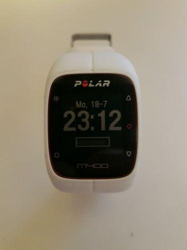 Polar M400 weiß Fitness Tracker Activity Sport GPS M 400 Fitnessuhr Joggen