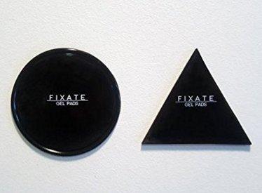 Fixate Cell Pads, Sticky Anti-Rutsch-GEL Pads - kann an Glas, Spiegel, Whiteboards, Metall, Küche Schränke oder Fliesen