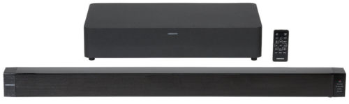 MEDION LIFE P65088 MD 84731 2.1 Bluetooth Soundbar mit Funk-Subwoofer 2x 30 Watt